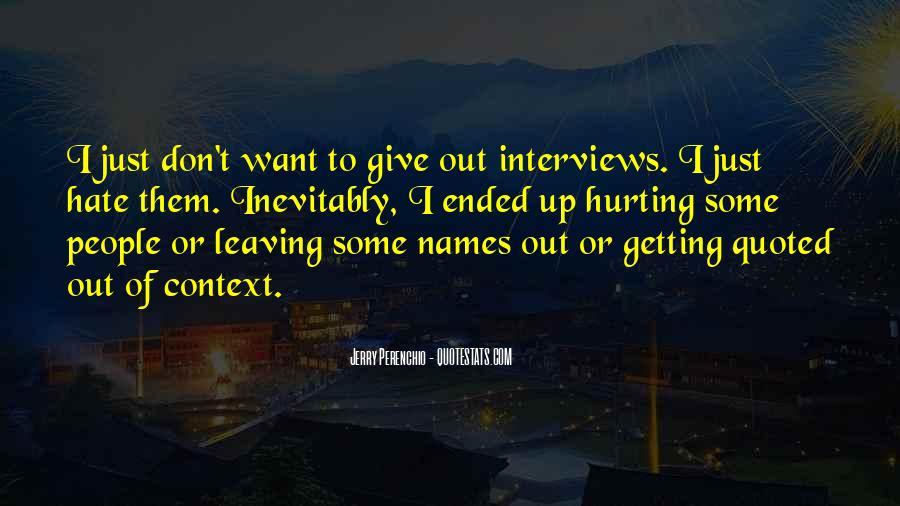 I Want Give Up Quotes #157591