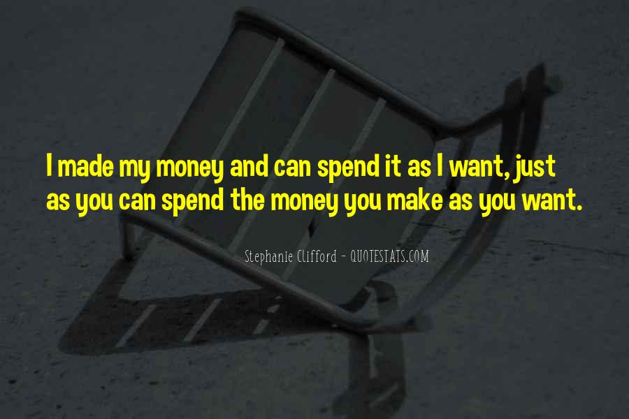 I Want Just You Quotes #41056