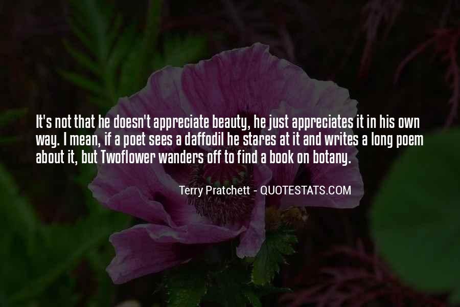 I Want Someone Who Appreciates Me Quotes #27207