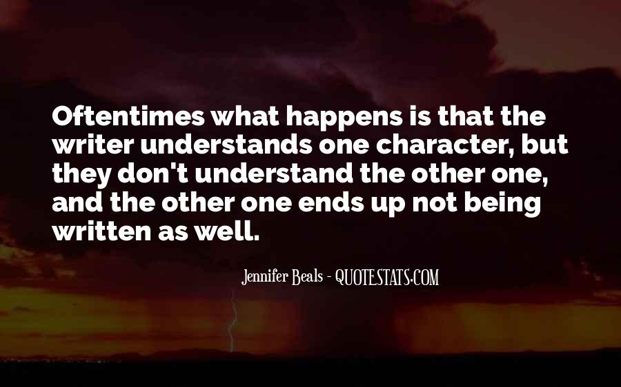 I Want Someone Who Understands Me Quotes #21428