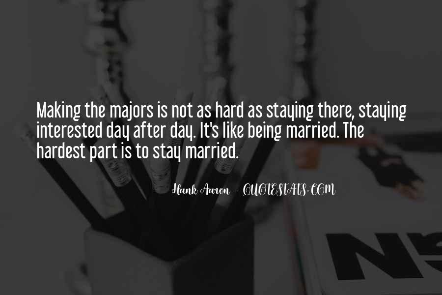 I Want To Get Married One Day Quotes #192136