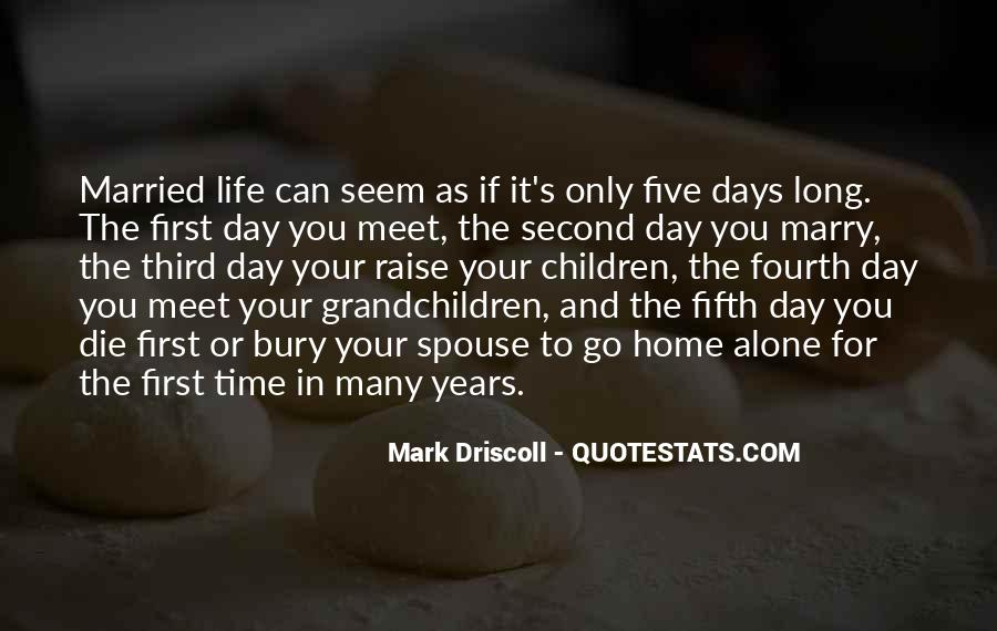 I Want To Get Married One Day Quotes #193196