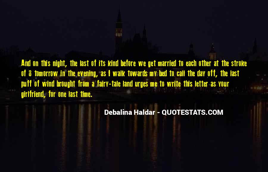 I Want To Get Married One Day Quotes #410013