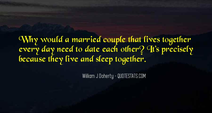 I Want To Get Married One Day Quotes #52953