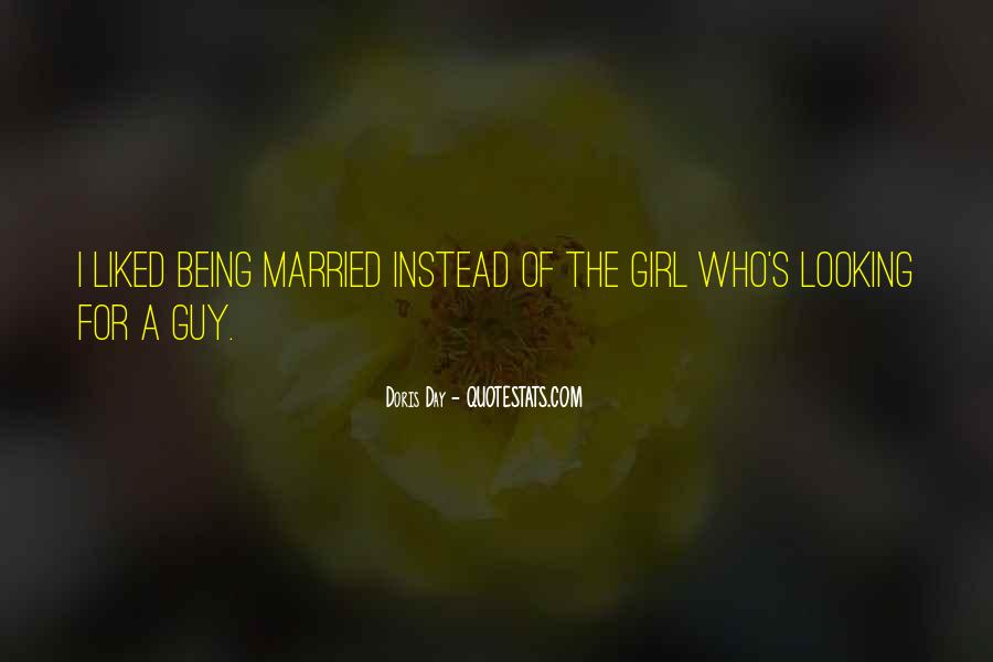 I Want To Get Married One Day Quotes #84295