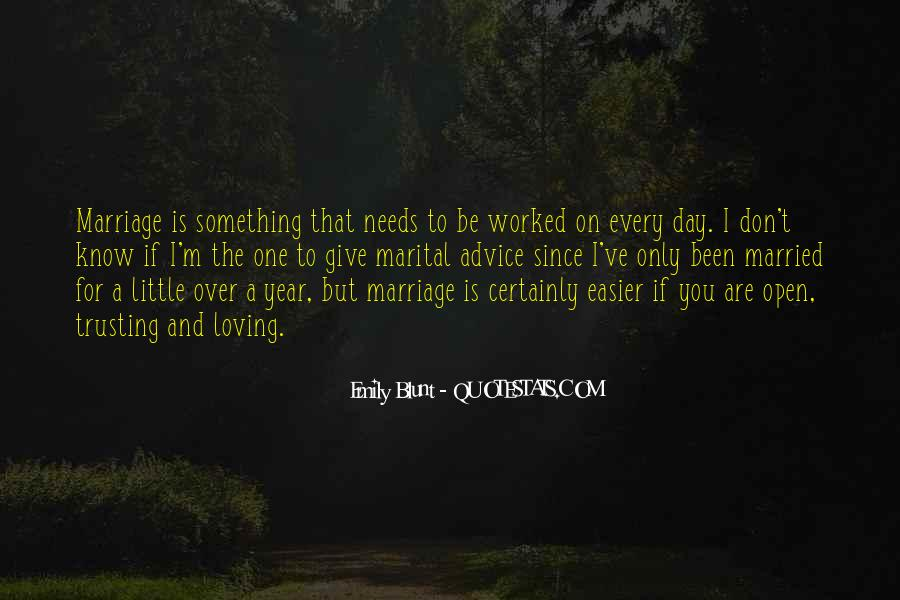 I Want To Get Married One Day Quotes #95917