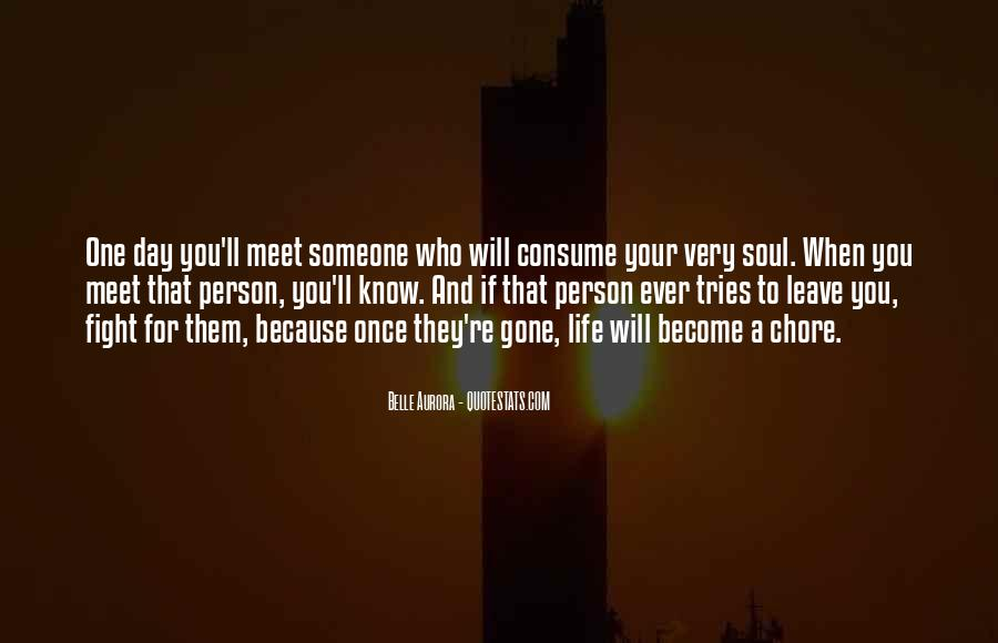 I Want To Meet You Once Quotes #492496