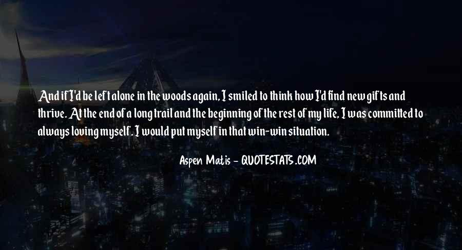 I Want To Travel Alone Quotes #127492