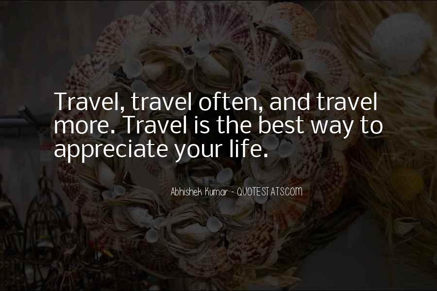 I Want To Travel Alone Quotes #424642