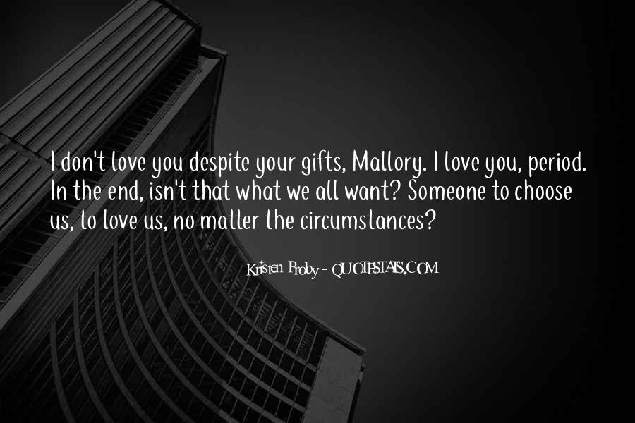 I Want Us Love Quotes #1728663