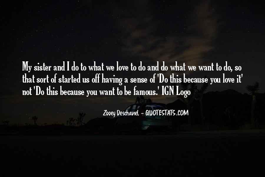 I Want Us Love Quotes #190381