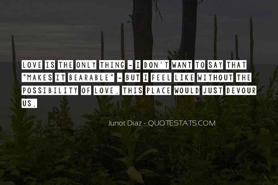 I Want Us Love Quotes #973479