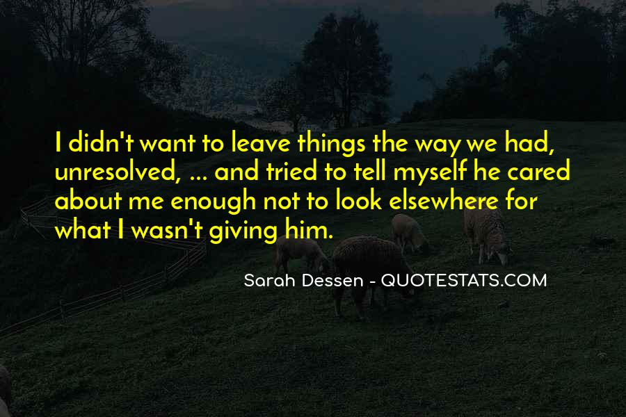 I Want What We Had Quotes #1025938