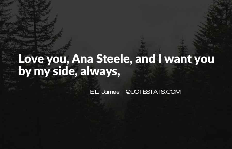 I Want You Always Quotes #135640