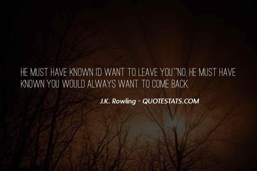 I Want You Always Quotes #76592