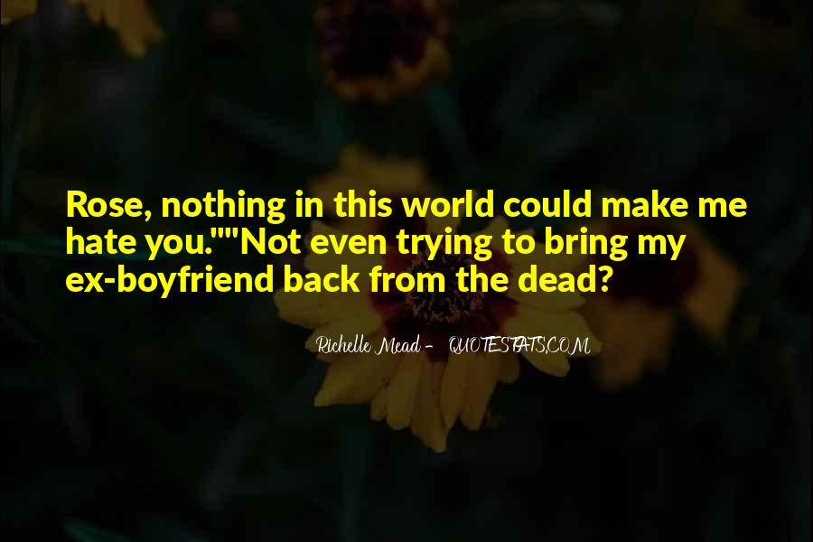 I Want You Back Boyfriend Quotes #1304960