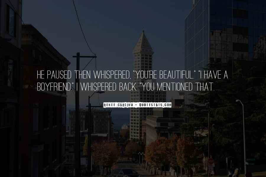 I Want You Back Boyfriend Quotes #1400749