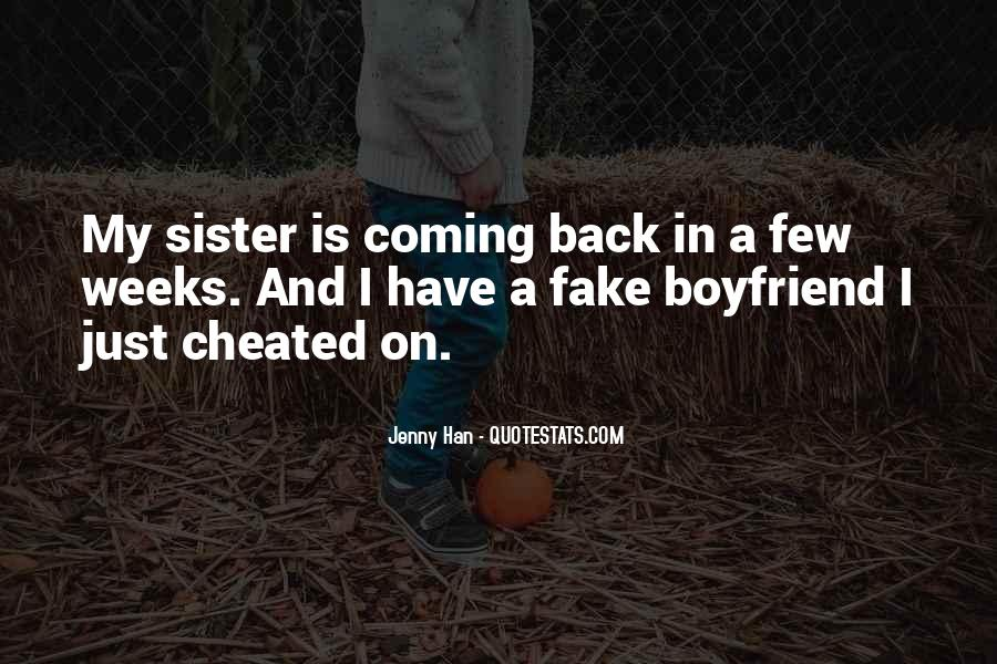 I Want You Back Boyfriend Quotes #1730669