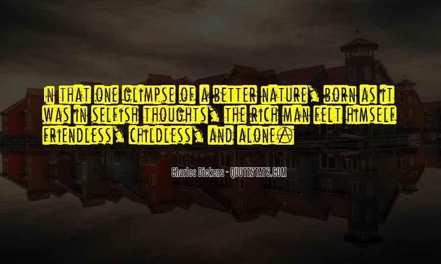 I Was Born Alone Quotes #180165