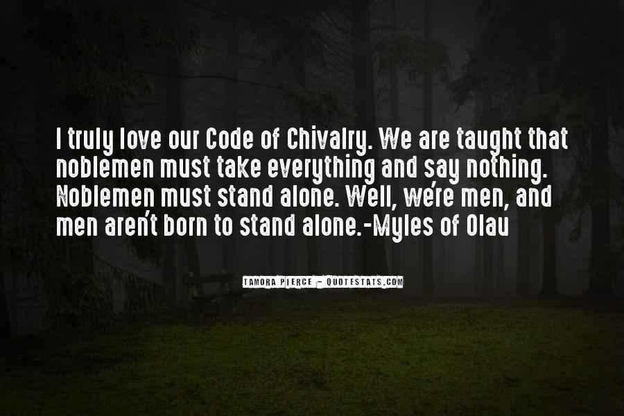 I Was Born Alone Quotes #424176