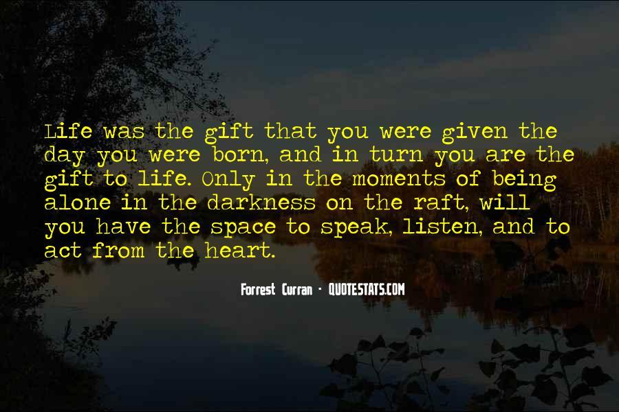 I Was Born Alone Quotes #456473