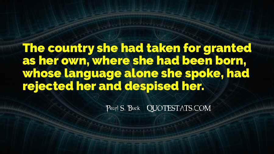 I Was Born Alone Quotes #672067