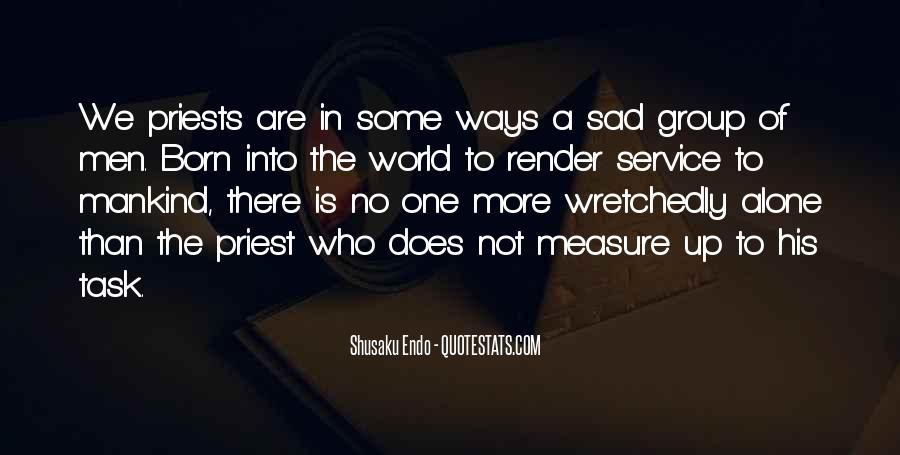 I Was Born Alone Quotes #80434