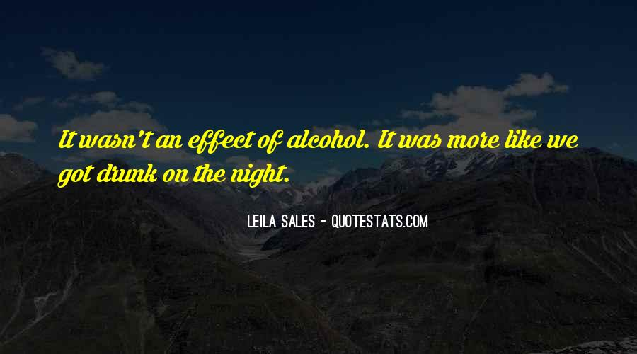 I Wasn't That Drunk Quotes #20858