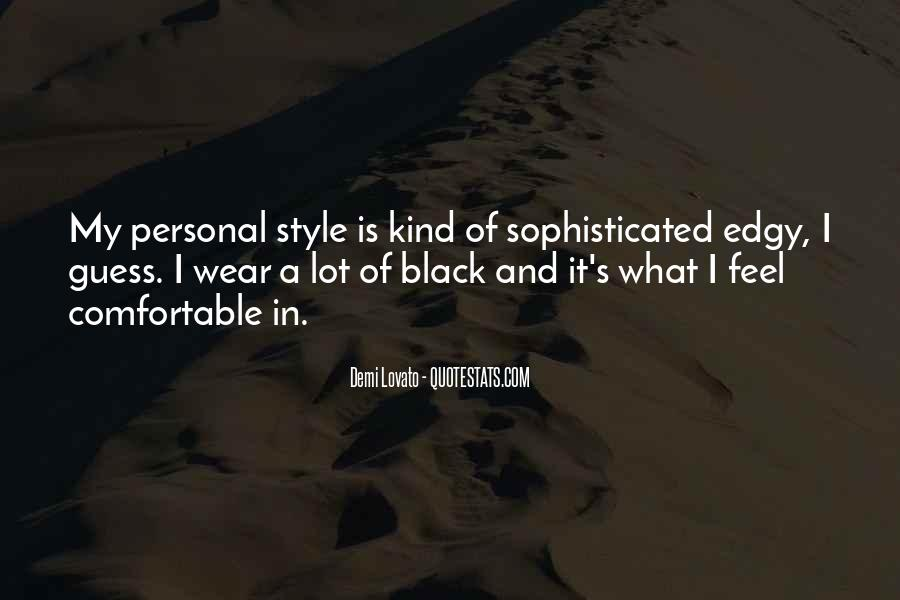 I Wear Black Quotes #1034381