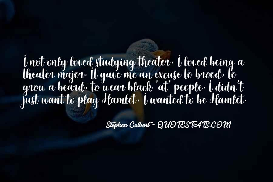 I Wear Black Quotes #1108131
