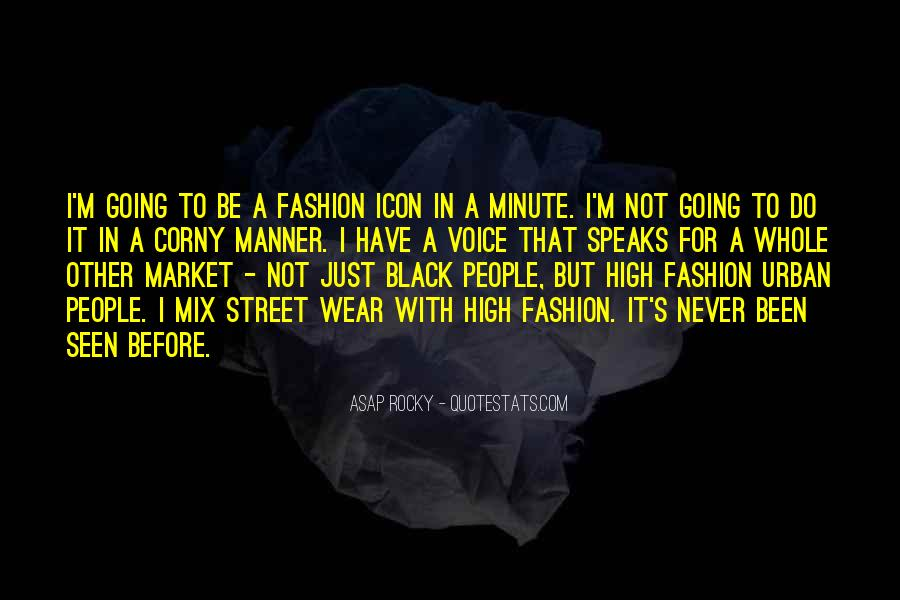 I Wear Black Quotes #1392832