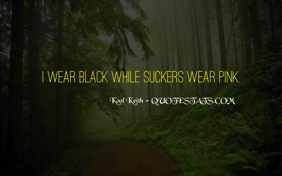 I Wear Black Quotes #140872