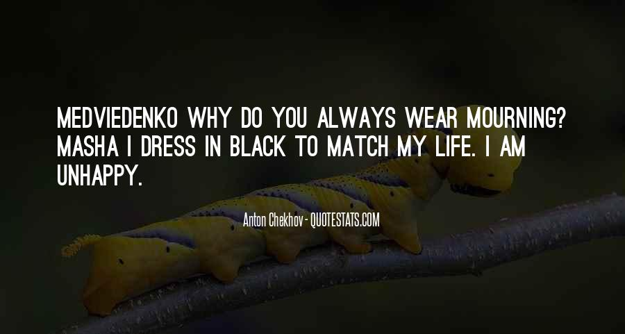 I Wear Black Quotes #611405