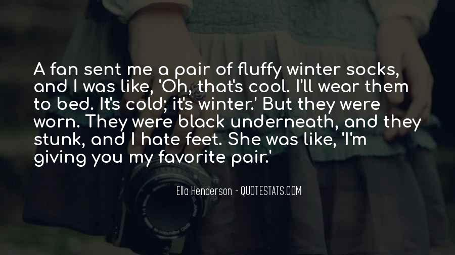 I Wear Black Quotes #692335