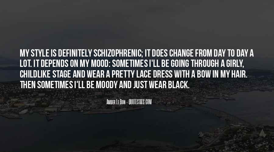 I Wear Black Quotes #903611