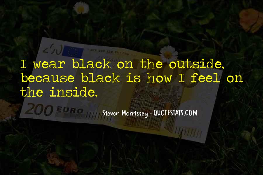 I Wear Black Quotes #984736