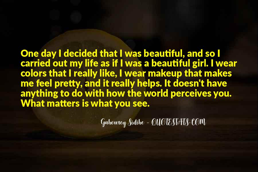 Top 100 I Wear Makeup Quotes: Famous Quotes & Sayings About ...