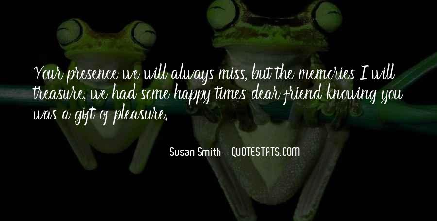 I Will Always Miss You Quotes #1107166