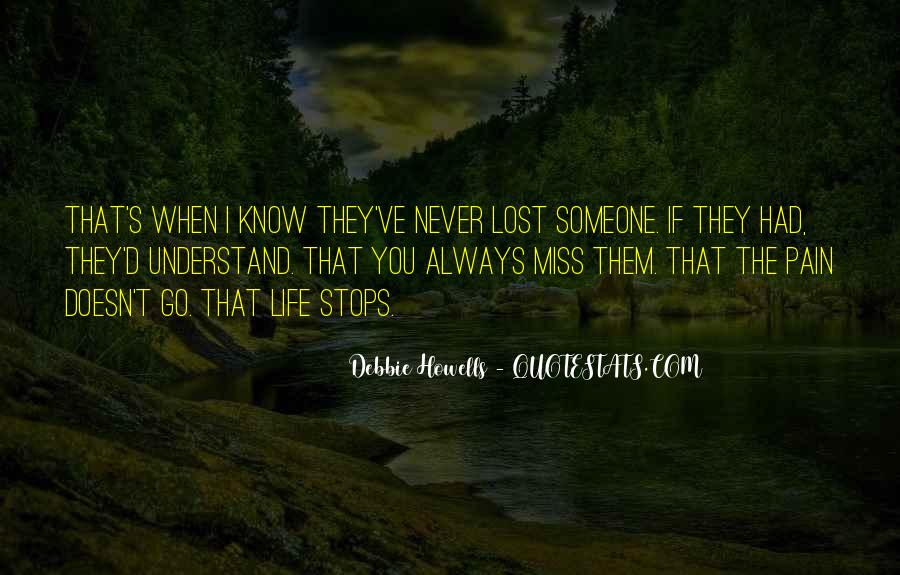 I Will Always Miss You Quotes #177531
