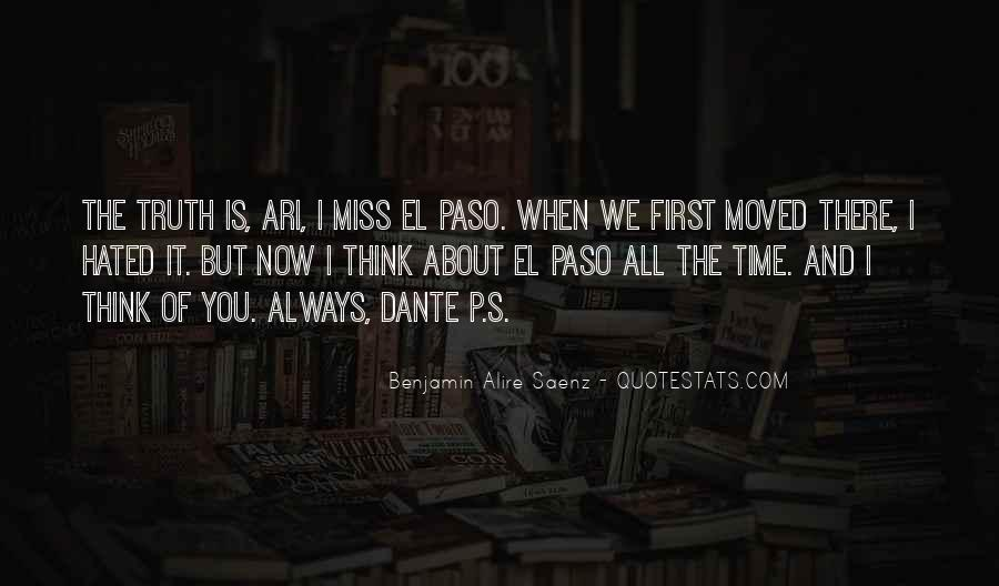 I Will Always Miss You Quotes #4174