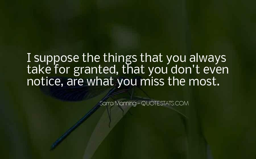 I Will Always Miss You Quotes #71654
