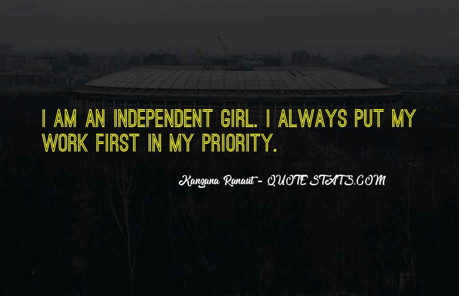 I Will Always Put You First Quotes #545362