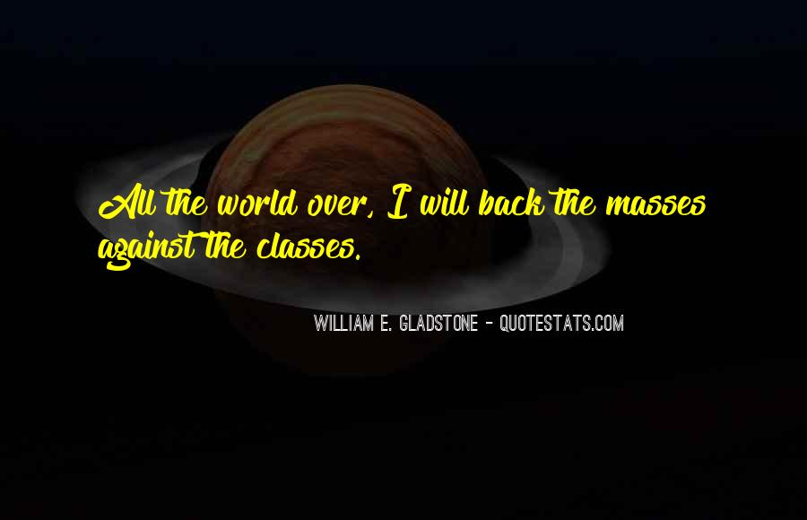 I Will Back Quotes #109024