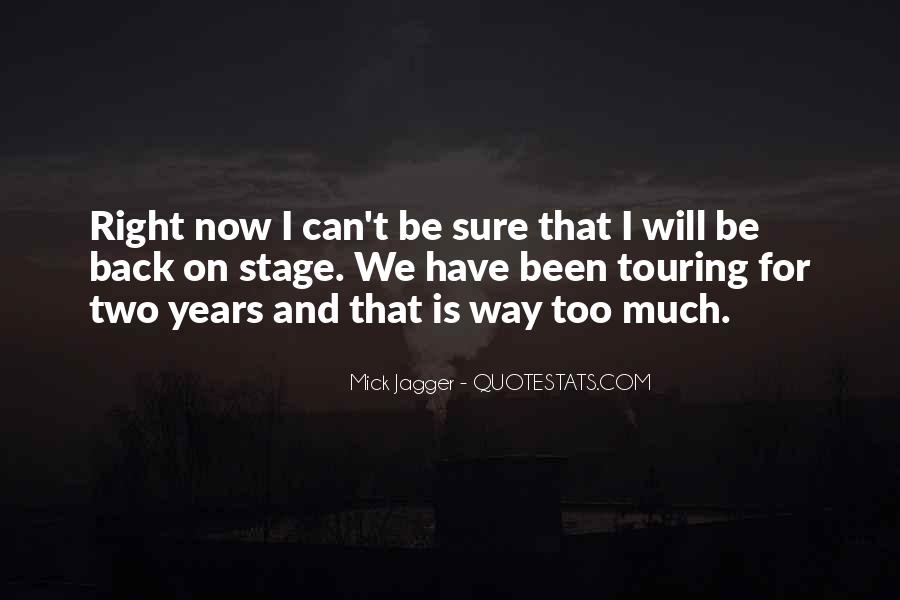 I Will Back Quotes #153765