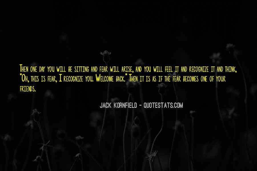 I Will Back Quotes #16100