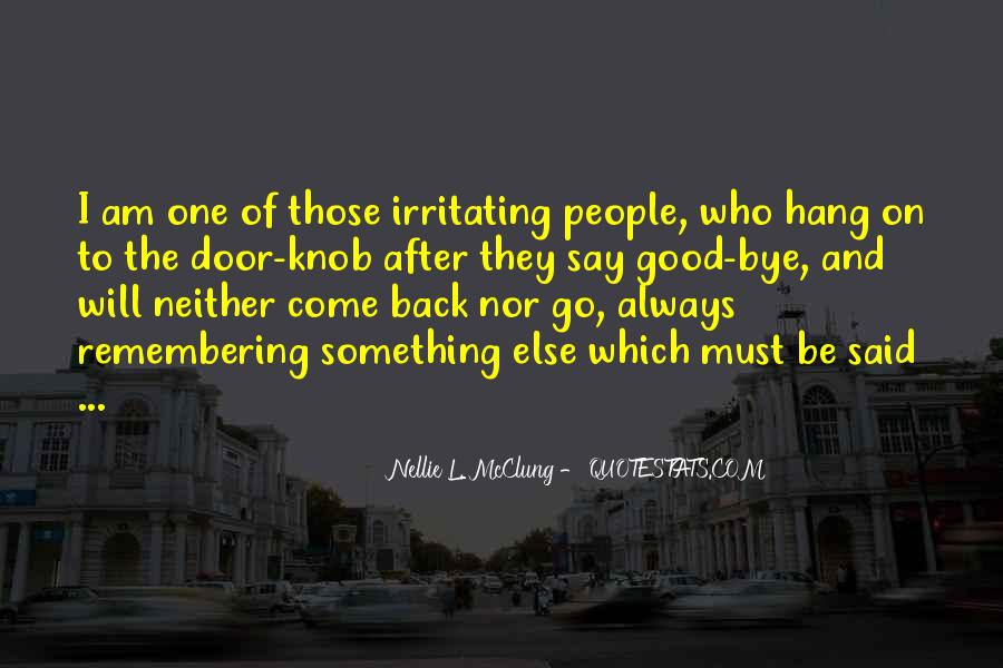I Will Back Quotes #27388