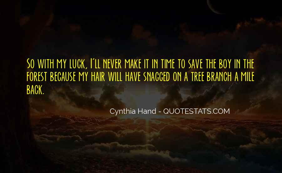 I Will Back Quotes #54168