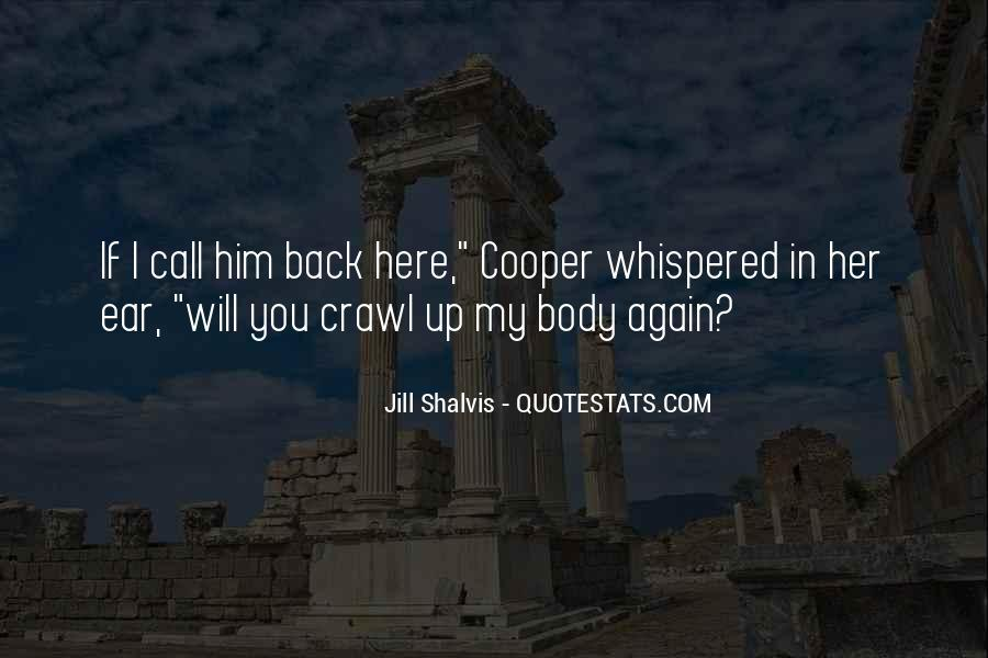 I Will Back Quotes #60125
