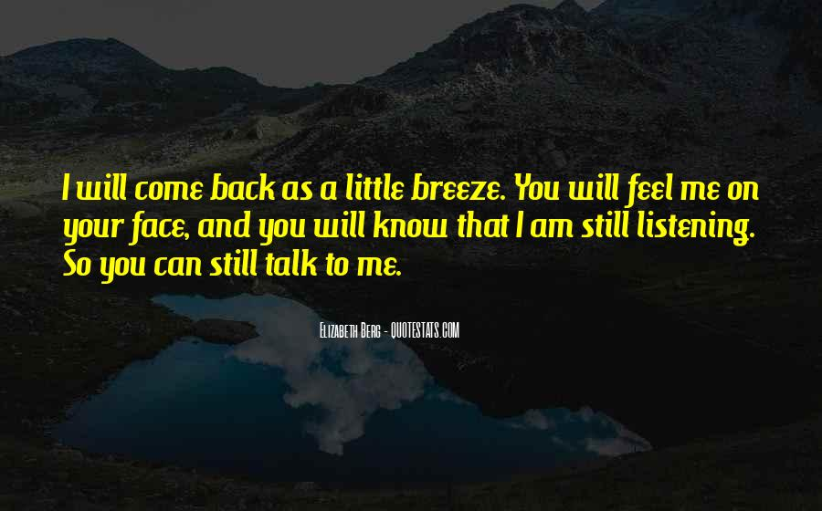 I Will Back Quotes #61526