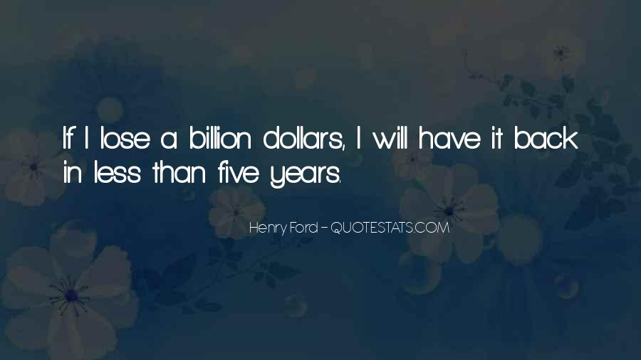 I Will Back Quotes #97367
